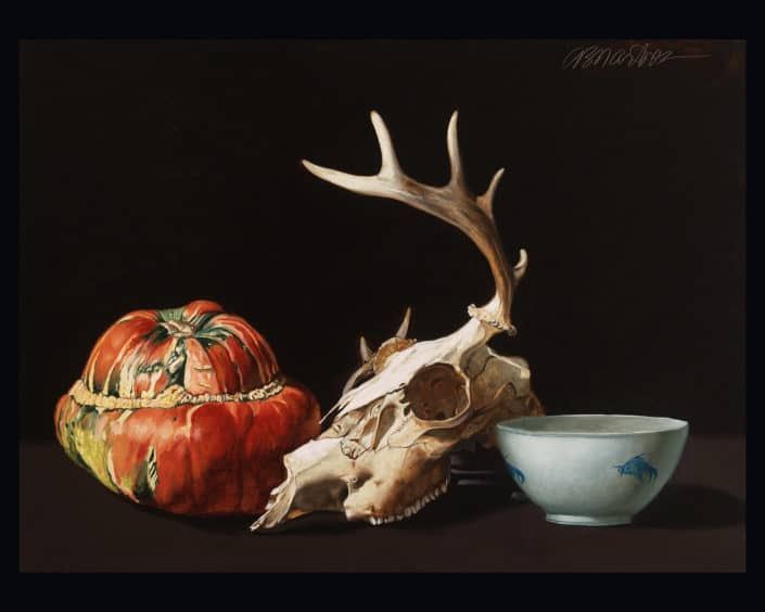 Adrian Martinez Turban Squash and Skull