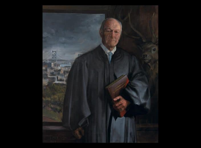 Adrian Martinez Portrait of Judge B